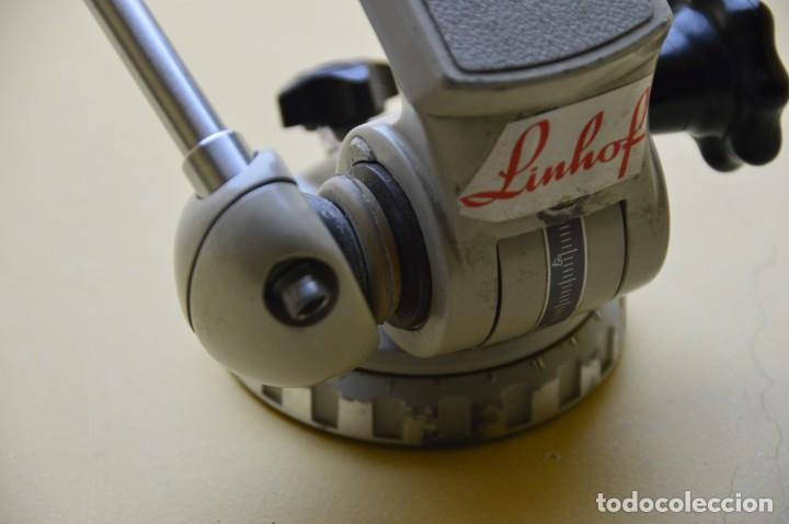 Cámara de fotos: Linhof Cabezal para tripode. Patenkopf I Amateur head. Numero serie 003617 - Foto 10 - 227015295