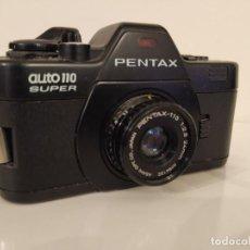 Cámara de fotos: PENTAX SUPER AUTO 110 ASAHI OPT. JAPAN 1:2,8 24 MM. Lote 232000260