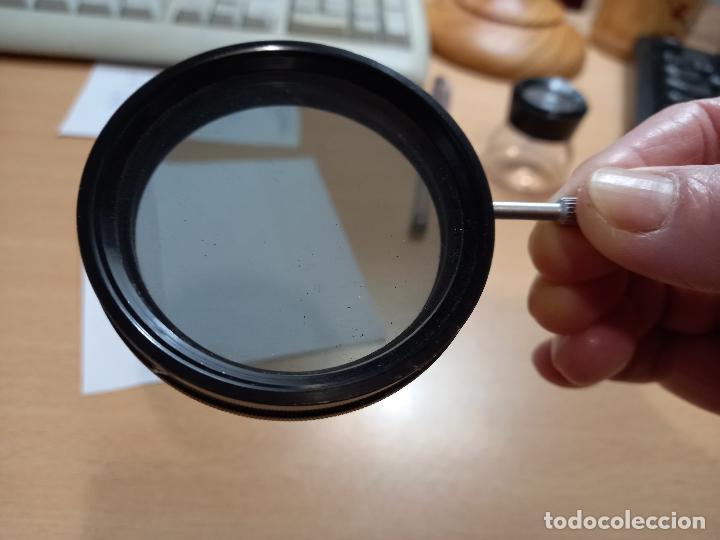 DOBLE FILTRO POLAROID ESPECIAL PARA CONSEGUIR LA NOCHE AMERICANA EN CINE Y VIDEO PARA 60 MM (Cámaras Fotográficas Antiguas - Objetivos y Complementos )