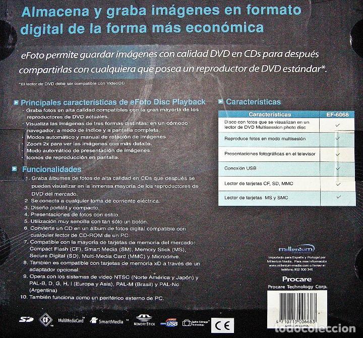 Cámara de fotos: Grabador de fotografías en CD eFoto - Foto 3 - 233666880