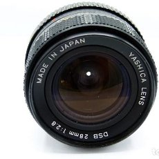 Cámara de fotos: OBJETIVO YASHICA DSB 28MM 1:2.8 - VER FOTOS. Lote 233561870
