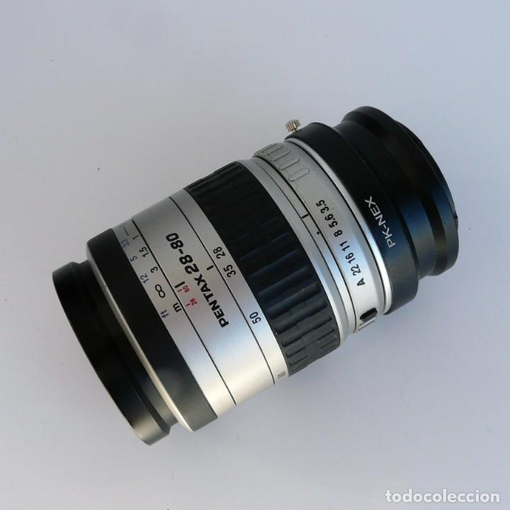 Cámara de fotos: ADAPTADOR PARA CANON O SONY NEX+OBJETIVO PENTAX-FA 28-80 mm f3.5-4-5 DEFECTUOSO - Foto 5 - 234847980