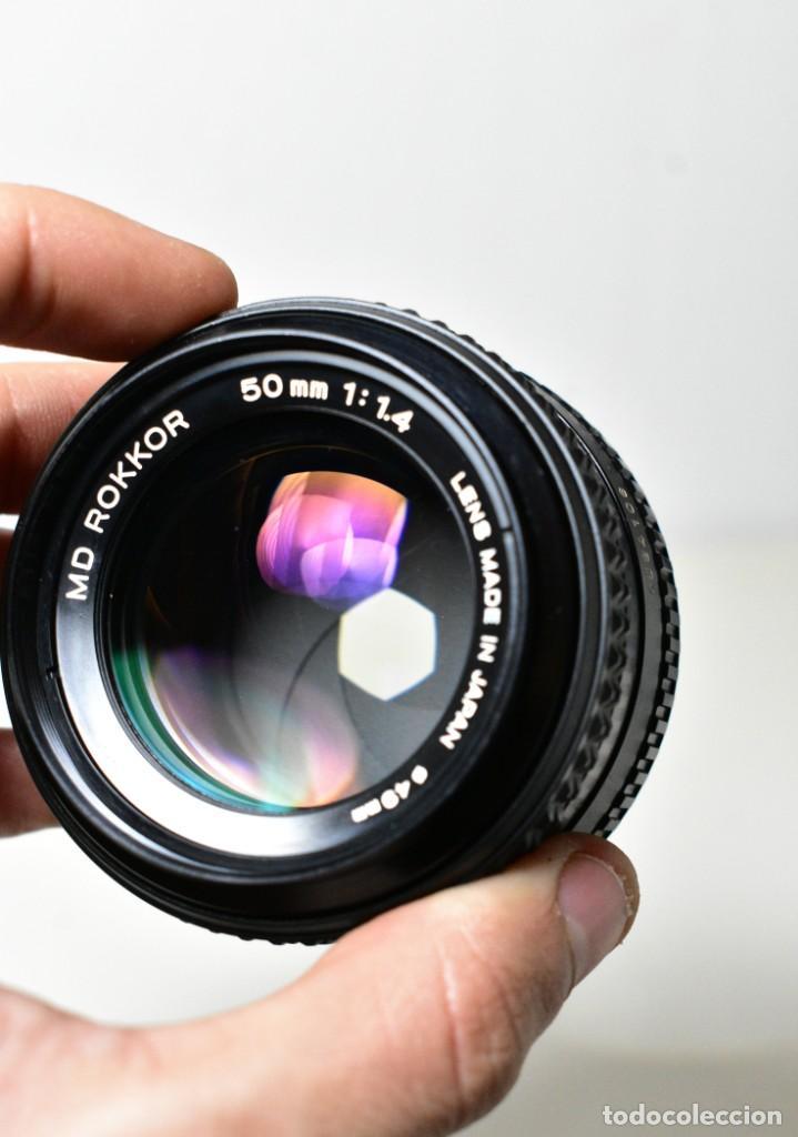 Cámara de fotos: Minolta Rokkor MD 50mm f1.4 - Foto 3 - 234858965