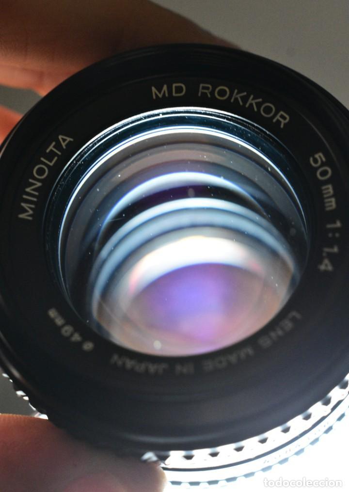 Cámara de fotos: Minolta Rokkor MD 50mm f1.4 - Foto 4 - 234858965