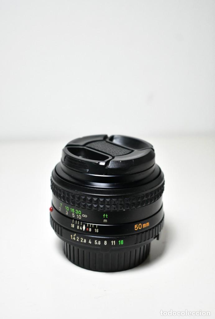 Cámara de fotos: Minolta Rokkor MD 50mm f1.4 - Foto 2 - 234858965
