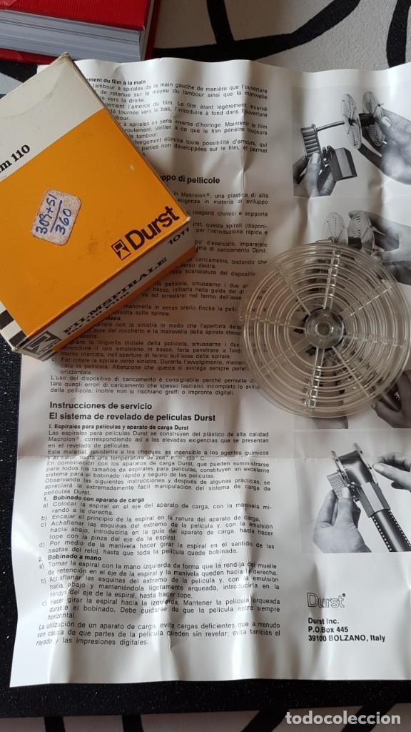Cámara de fotos: DURST BOBINA ESPIRAL PARA REVELADO 110 - Foto 5 - 234865185