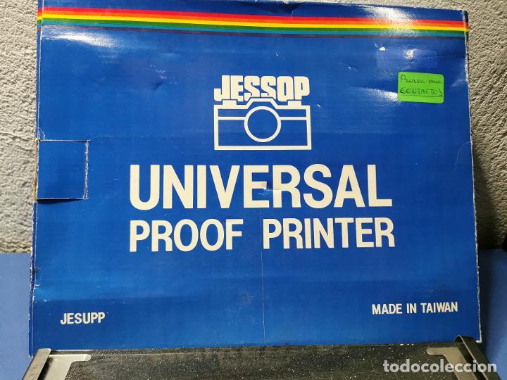 JESSOP UNIVERSAL PROOF PRINTER (PRENSA PARA CONTACTOS) NUEVA SIN USO (Cámaras Fotográficas Antiguas - Objetivos y Complementos )