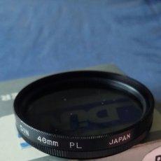 Cámara de fotos: FILTRO POLARIZADOR 46MM ,MARCA DIN .JAPON.. Lote 235343505