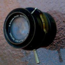 Cámara de fotos: CARL ZEISS TESSAR 130 MM F/5,6.E.KRAUSS, PARIS. Lote 235689330