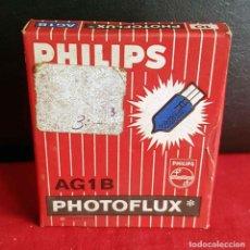 Fotocamere: FLASH PHILIPS PHOTOFLUX AG1B, 10 UNIDADES CON CAJA ORIGINAL, NUEVOS. Lote 236327885