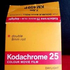 Cámara de fotos: KODACHROME 25 PARA 8 MM. Lote 236590815
