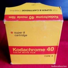 Cámara de fotos: KODACHROME 40 PARA SUPER 8 MM. Lote 236591780