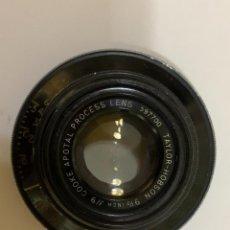 Cámara de fotos: OBJETIVO ANTIGUO TAYLOR HOBSON 90MM 9. Lote 237352730