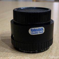 Cámara de fotos: RODENSTOCR ROGONAR S 75MM 4.5. Lote 237439295