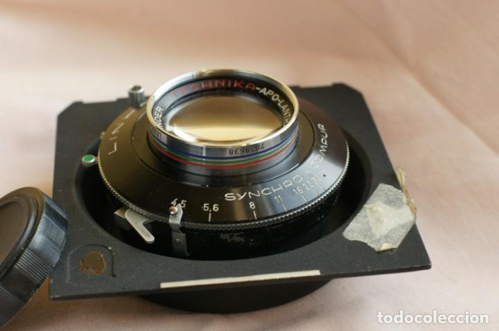 Cámara de fotos: Objetivo Voigtländer Apo Lanthar 1:45/15cm con obturador Linhof synchro-compur para gran formato - Foto 2 - 238205810