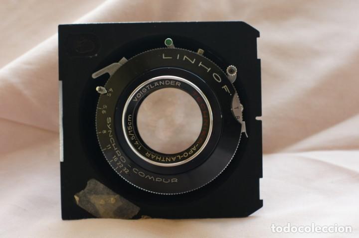 Cámara de fotos: Objetivo Voigtländer Apo Lanthar 1:45/15cm con obturador Linhof synchro-compur para gran formato - Foto 3 - 238205810
