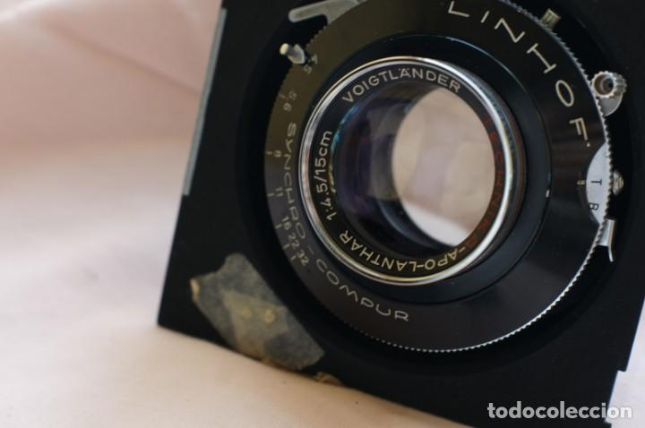 Cámara de fotos: Objetivo Voigtländer Apo Lanthar 1:45/15cm con obturador Linhof synchro-compur para gran formato - Foto 4 - 238205810