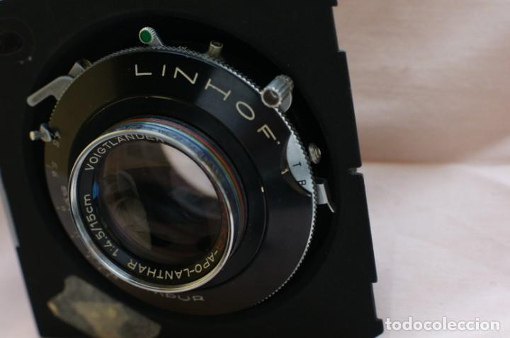 Cámara de fotos: Objetivo Voigtländer Apo Lanthar 1:45/15cm con obturador Linhof synchro-compur para gran formato - Foto 6 - 238205810
