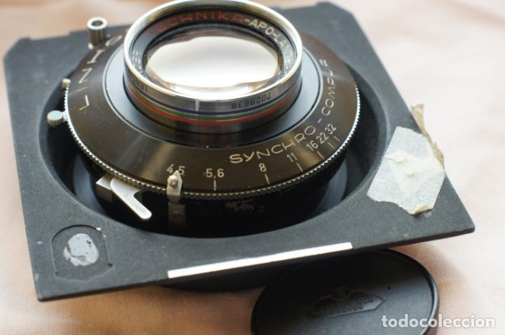 Cámara de fotos: Objetivo Voigtländer Apo Lanthar 1:45/15cm con obturador Linhof synchro-compur para gran formato - Foto 10 - 238205810
