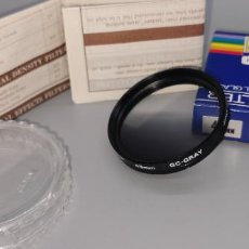 Cámara de fotos: FILTRO JESSOP 49 MM GC-GRAY NUEVO A ESTRENAR MADE IN JAPAN. Lote 238626505