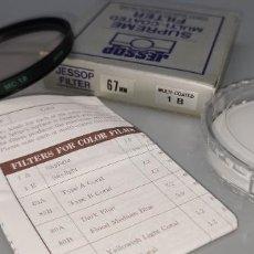 Cámara de fotos: FILTRO JESSOP 67 MM MULTI-COATED NUEVO A ESTRENAR MADE IN JAPAN. Lote 238627650