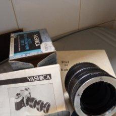 Cámara de fotos: YASHICA ACCESORIOS. Lote 239492190