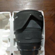 Cámara de fotos: OBJETIVO DE CAMARA FOTOGRAFICA. MARCA SIGMA 18-250MM F3.5-6.3 DC MACRO OS SLD GLASS FOR NIKON. Lote 242007555