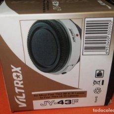 Cámara de fotos: CAMARA FOTOGRAFICA VILTROX ADAPTADOR OBJETIVOS MICRO 4/3 PARA CÁMARAS 4/3.. Lote 243548675