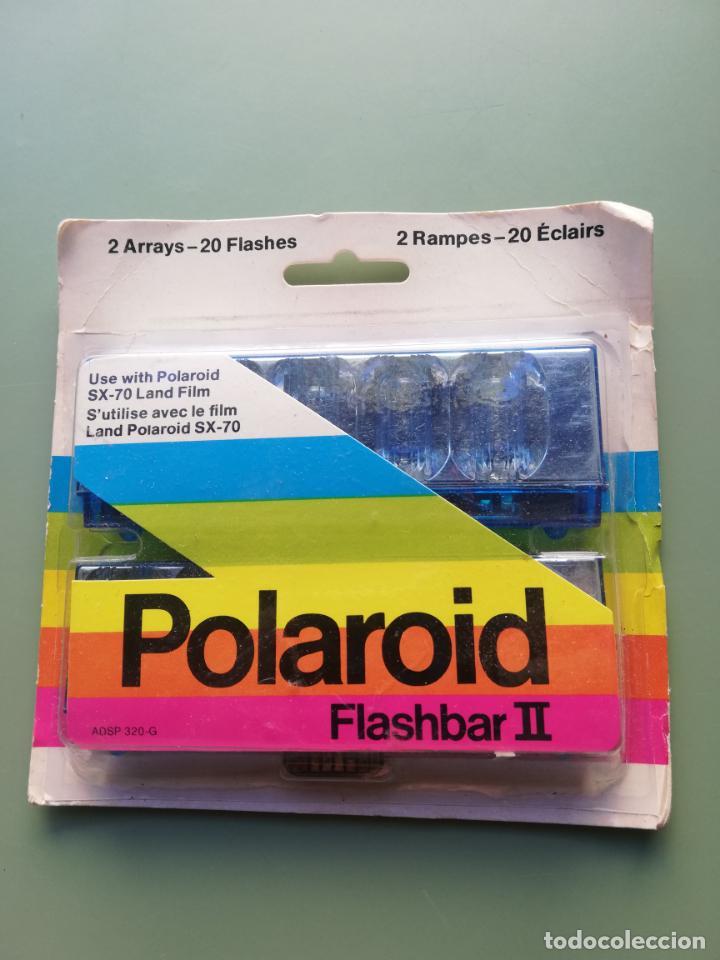 POLAROID - FLASHBAR II - 20 FLASHES - SIN ABRIR (Cámaras Fotográficas Antiguas - Objetivos y Complementos )