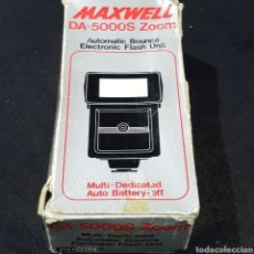 Cámara de fotos: FLASH MAXWELL DA-5000S ZOOM. Lote 244480305