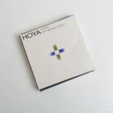 Cámara de fotos: FILTRO ADAPTADOR HOYA FILTER FOR SPECIAL EFFECT 72-77 JAPAN. Lote 244754335