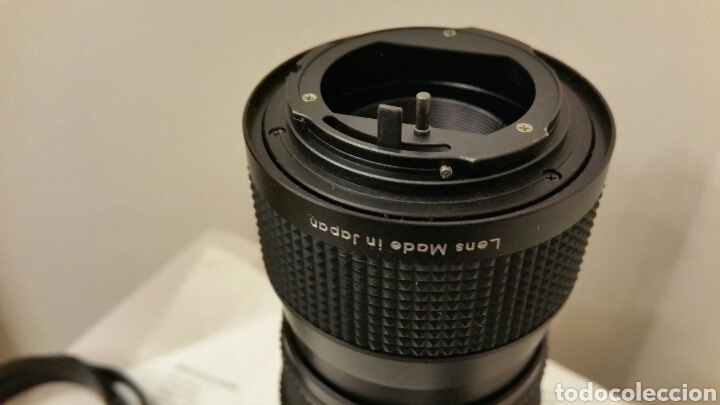 Cámara de fotos: Antiguo Teleobjetivo SAKAR para Cámara Reflex KÓNICA. Lens Japan. 85-210 mm. F3.8 Automatic • Macro. - Foto 3 - 244760005