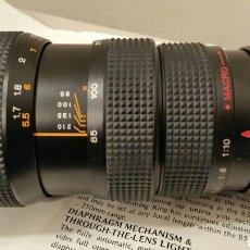 Cámara de fotos: ANTIGUO TELEOBJETIVO SAKAR PARA CÁMARA REFLEX KÓNICA. LENS JAPAN. 85-210 MM. F3.8 AUTOMATIC - MACRO.. Lote 244760005