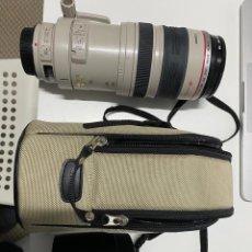 Cámara de fotos: CANON EF 100-400MM F/4.5-5.6L OBJETIVO PARA CANON. Lote 244913855