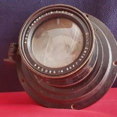 Cámara de fotos: GRAN OBJETIVO CAIL ZEISS JENA NR 980346 APO-TESSAR 1:9 F=69 CM. Lote 245023745
