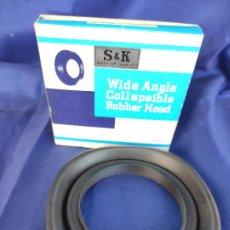 Cámara de fotos: S & K WIDE ANGLE COLLAPSIBLE RUBBER HOOD JAPAN. Lote 247716745
