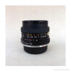 Appareil photos: OBJETIVO EXAKTA, 24 MM, 1:2.8 MC MACRO, DIÁMETRO 52. Lote 247777070