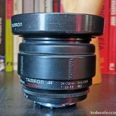 Cámara de fotos: TAMRON 24-70 F3.3-5.6 PARA NIKON - ASPHERICAL - AF - TAMRON NIKON.. Lote 249396245