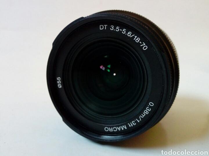 Cámara de fotos: Sin probar, ¿para reparar?: Objetivo SONY 18-70 mm DT 3.5-5.6 - montura Alpha - Konica Minolta Aps-C - Foto 4 - 252339290
