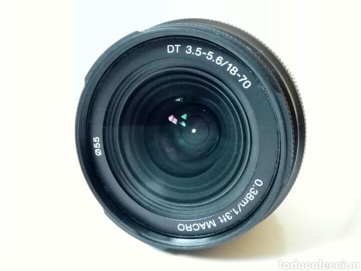 Cámara de fotos: Sin probar, ¿para reparar?: Objetivo SONY 18-70 mm DT 3.5-5.6 - montura Alpha - Konica Minolta Aps-C - Foto 5 - 252339290