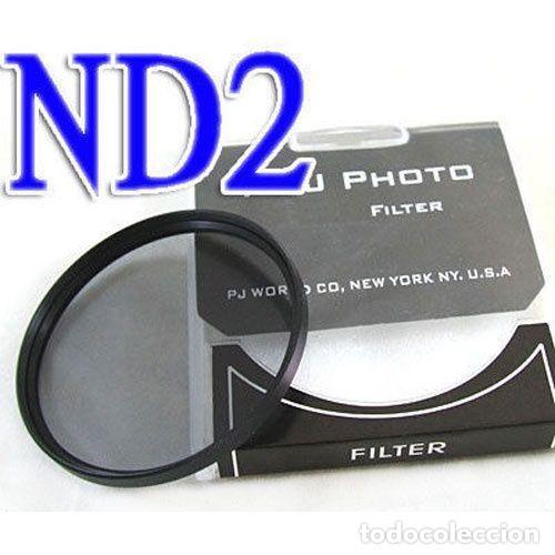 FILTRO NEUTRO ND2 55MM (Cámaras Fotográficas Antiguas - Objetivos y Complementos )