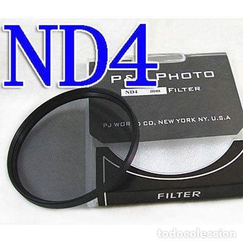 FILTRO NEUTRO ND4 58MM (Cámaras Fotográficas Antiguas - Objetivos y Complementos )