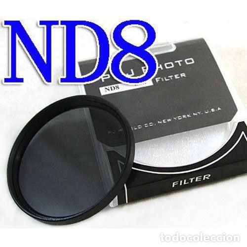 FILTRO NEUTRO ND8 55MM (Cámaras Fotográficas Antiguas - Objetivos y Complementos )
