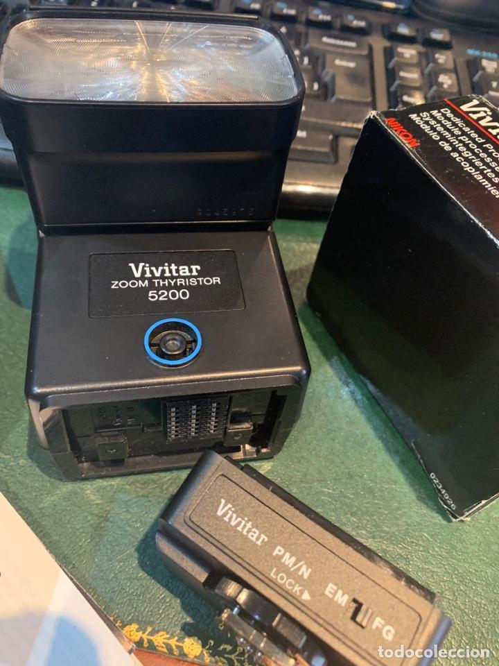 Cámara de fotos: Flash Sistema Electrónico + Módulo de Acoplamiento de Automatismo - VIVITAR - - Foto 2 - 254860410