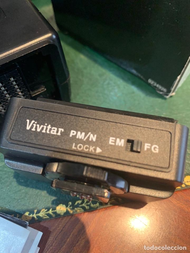 Cámara de fotos: Flash Sistema Electrónico + Módulo de Acoplamiento de Automatismo - VIVITAR - - Foto 3 - 254860410