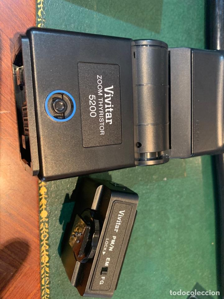 Cámara de fotos: Flash Sistema Electrónico + Módulo de Acoplamiento de Automatismo - VIVITAR - - Foto 4 - 254860410