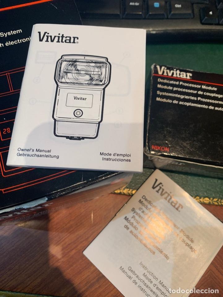 Cámara de fotos: Flash Sistema Electrónico + Módulo de Acoplamiento de Automatismo - VIVITAR - - Foto 12 - 254860410