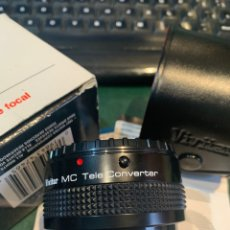 Cámara de fotos: VIVITAR MC TELE CONVERTER 2 X 24 -DUPLICADOR -. Lote 254862855