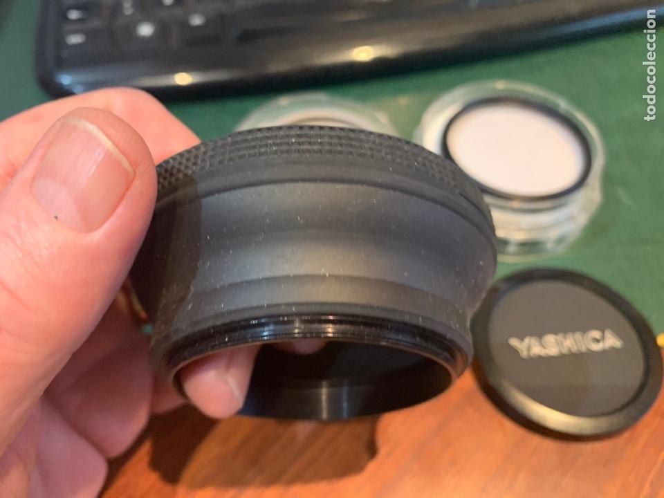 Cámara de fotos: Conjunto filtros Luxon Ski y B.W 52E K.R 1,5 1.1 , tapa 54 Yashica , 2 quita sol diferente 54 y 56 m - Foto 2 - 254865655