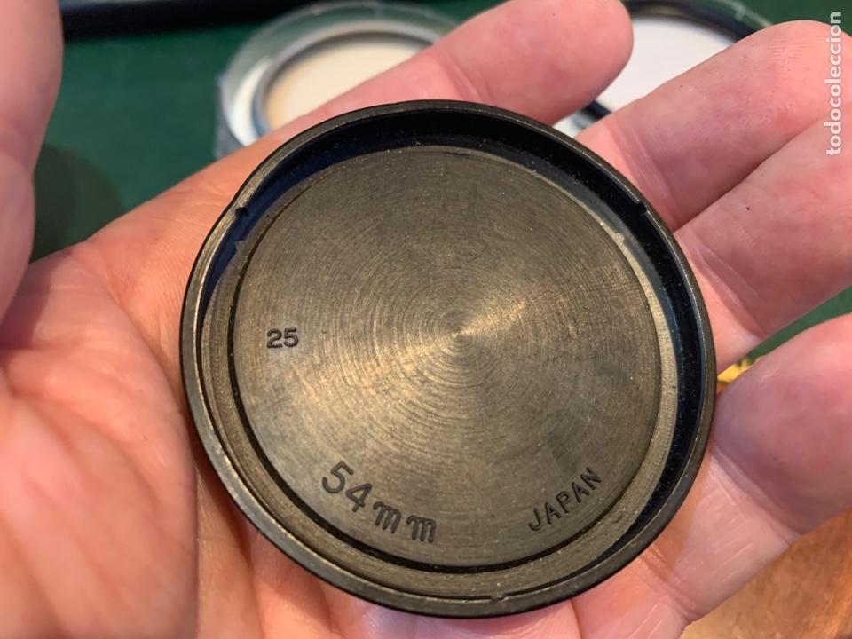 Cámara de fotos: Conjunto filtros Luxon Ski y B.W 52E K.R 1,5 1.1 , tapa 54 Yashica , 2 quita sol diferente 54 y 56 m - Foto 5 - 254865655